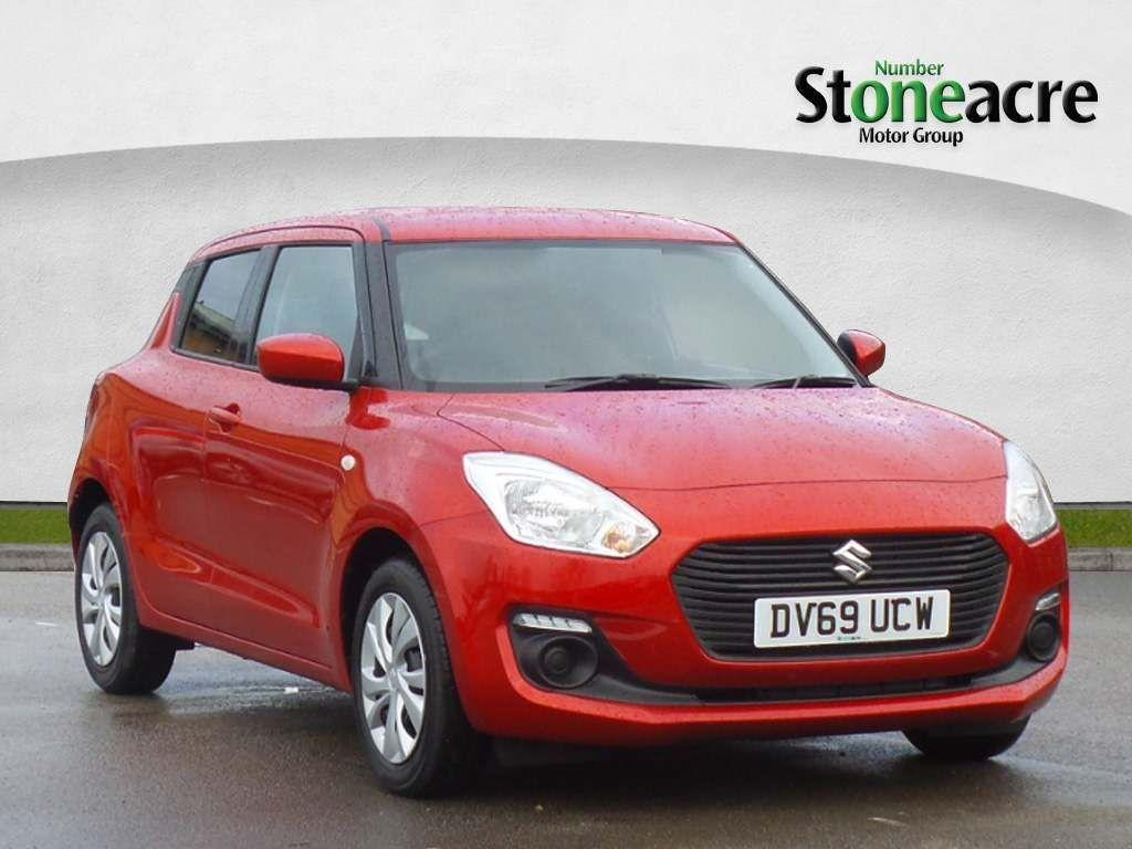 Suzuki Swift 1.2 Dualjet SZ3 Hatchback 5dr Petrol Manual (s/s) (90 ps) Hatchback Petrol Red