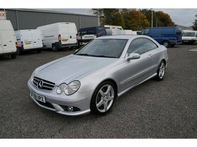 Mercedes-Benz CLK 3.0 320 CDi Sport 2dr Tip Auto Coupe Diesel Silver