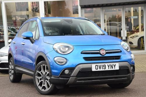 Fiat 500x 1.3 FireFly Turbo (148bhp) Cross Plus Hatchback Petrol Blue Metallic