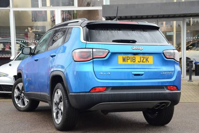 Jeep Compass 2.0MultiJet II (170ps) Limited (AWD) Estate Diesel Hydro Blue Pearl Metallic