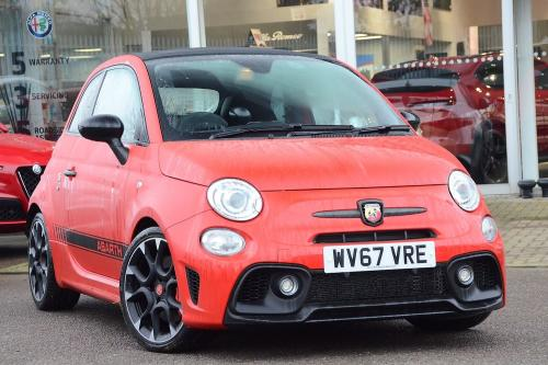 Abarth 595 1.4 Tjet (180ps) Competizione Convertible Petrol Red