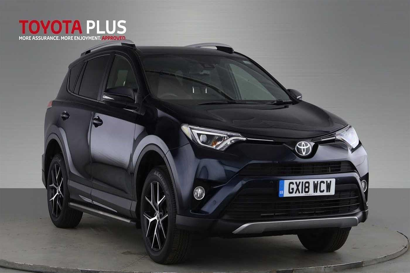 Toyota Rav4 2.0 D-4D Icon TSS 5dr 2WD Crossover Diesel Blue