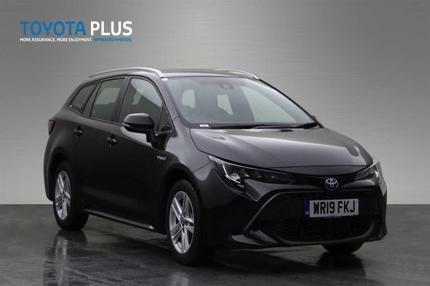 Toyota Corolla 1.8 VVT-i Hybrid Icon Tech 5dr CVT Estate Hybrid Black
