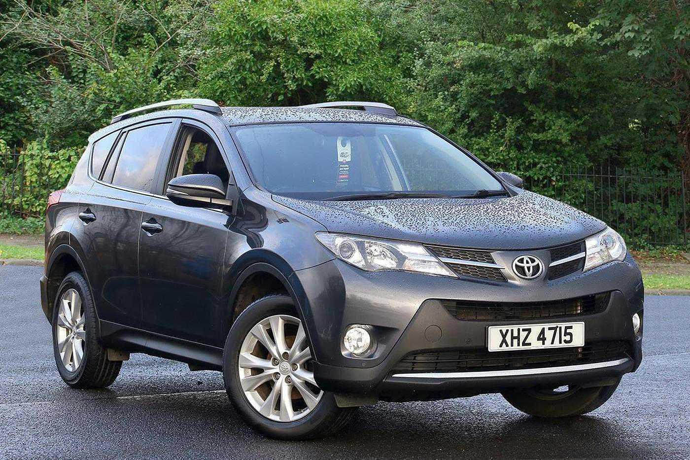 Toyota Rav-4 2.0 D-4D Invincible 5dr 2WD Crossover Diesel Grey