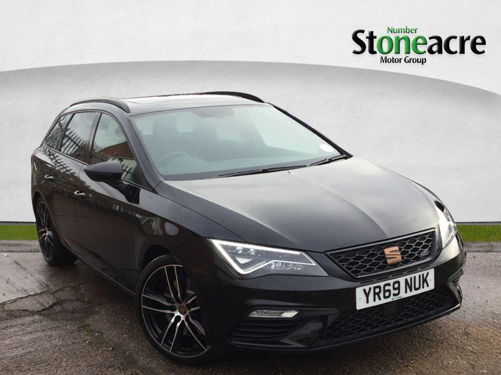 Seat Leon 2.0 TSI Cupra 300 Lux Estate 5dr Petrol DSG 4Drive (s/s) (300 ps) Estate Petrol Black