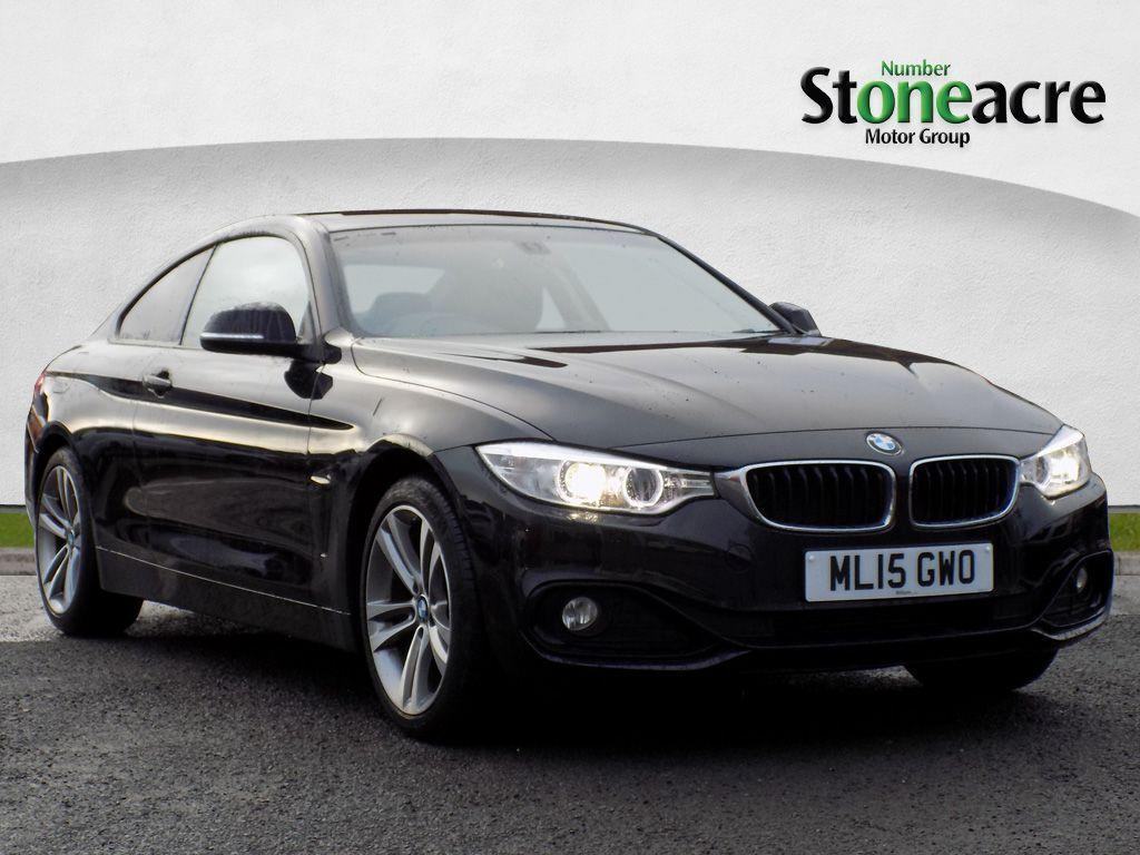 BMW 4 Series 2.0 420d xDrive Sport Coupe Coupe Diesel Black