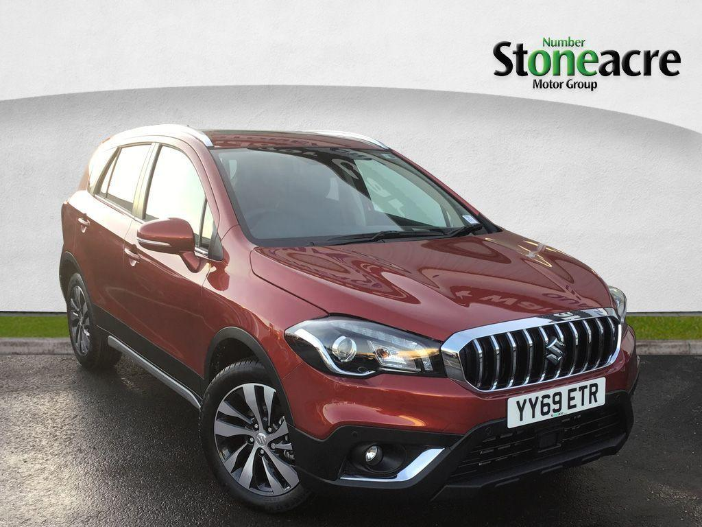 Suzuki Sx4 S-Cross 1.4 Boosterjet SZ5 SUV 5dr Petrol Manual ALLGRIP (s/s) (140 ps) SUV Petrol Red
