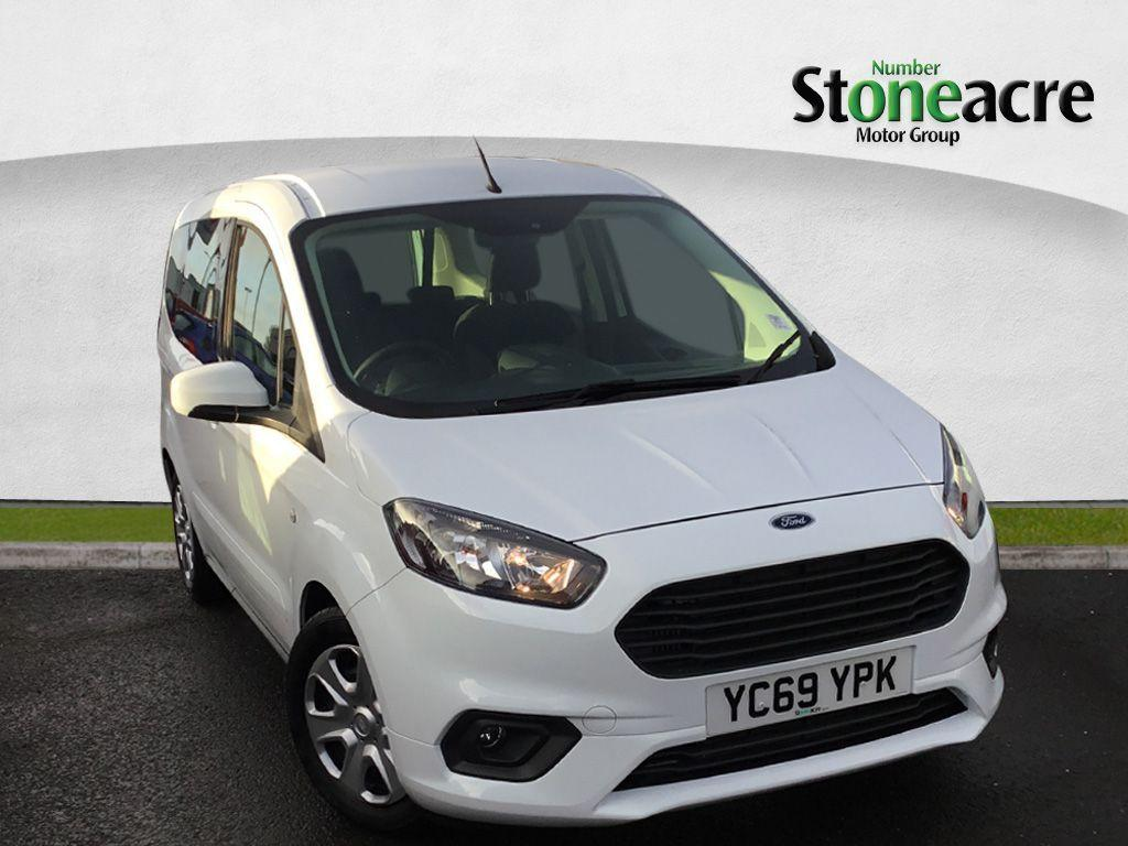 Ford Tourneo-courier 1.0 Unclassified MPV Petrol White