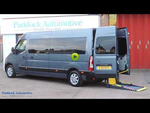 Renault Master 2.3 LM35 dCi Automatic Disabled Wheelchair Adapted Vehicle WAV Wheelchair Adapted Diesel Blue Mica