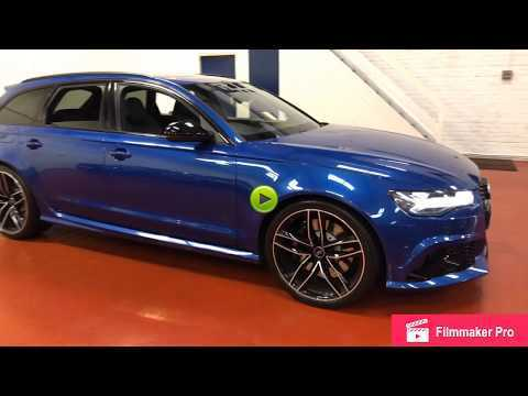 Audi RS6 4.0T FSI Quattro RS 6 Performance 5dr Tip Auto Estate Petrol Blue