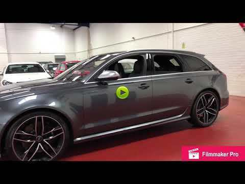 Audi RS6 4.0T FSI V8 Bi-Turbo RS6 Quattro 5dr Tip Auto Estate Petrol Grey